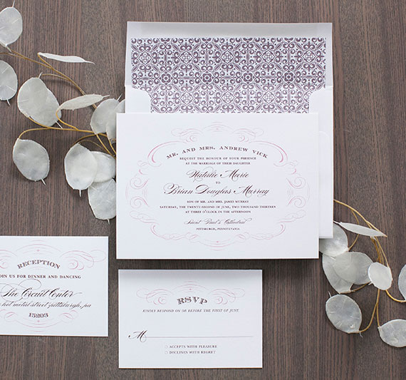 Ethereal Wedding Invitations | Blush Design Boutique