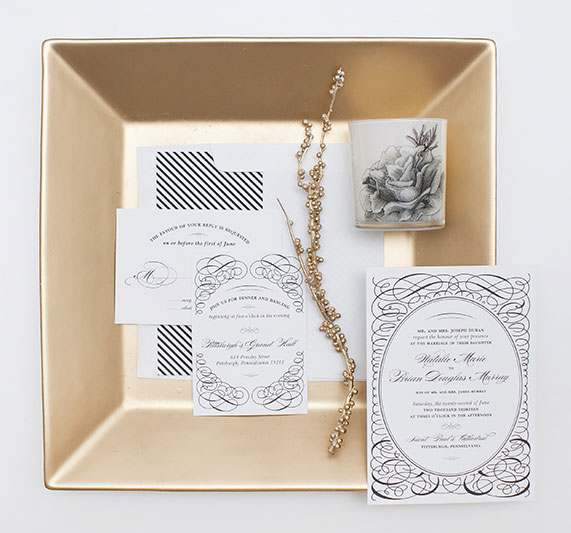 Luxe Wedding Invitations | Blush Design Boutique