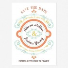 Cheerful Celebrations Save the Date Cards