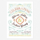 Cheerful Celebrations Wedding Invitations