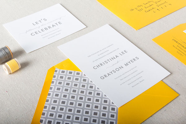 Nathan Wedding Invitation Suite | Chelsey Emery
