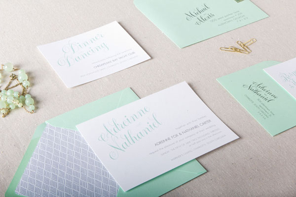 Olivia Wedding Invitation Suite | Chelsey Emery