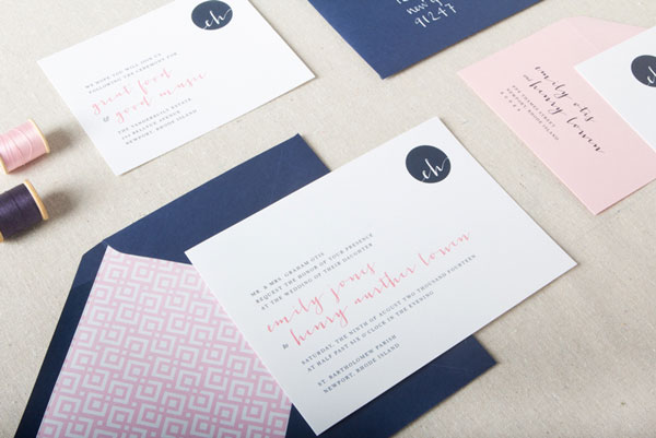 Declan Wedding Invitation Suite | Chelsey Emery