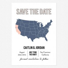 Dream Big Save the Date Cards