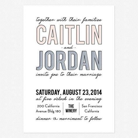 Dream Big Wedding Invitations