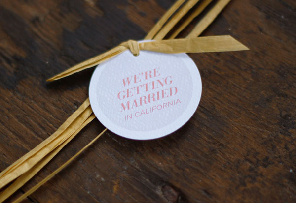 Raffia + Tag Wedding Suite