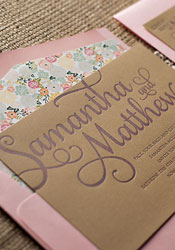 romantic-rustic-letterpress-wedding-invitations