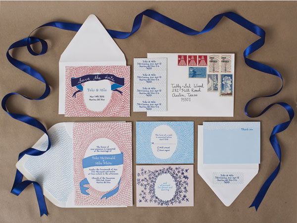 Feathers Wedding Invitations