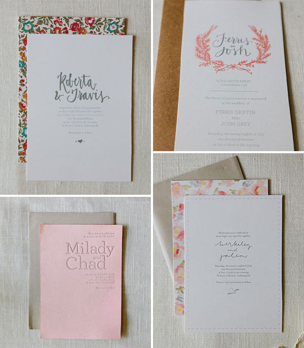AllieRuth Design Wedding Invitations