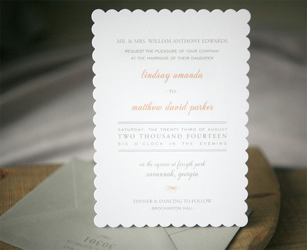 Ready To Order Wedding Invitations | Foglio Press