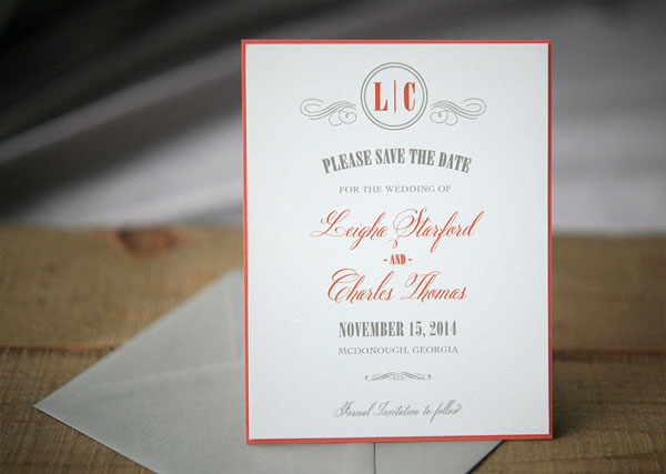 Hazelhurst Wedding Invitations | Foglio Press