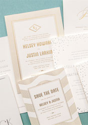 gold-silver-foil-stamped-wedding-invitations