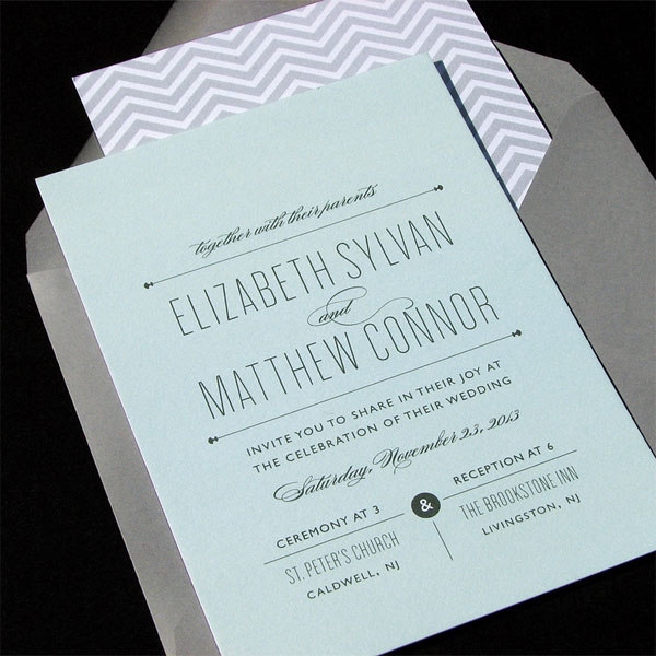 Allie Wedding Invitations | The Occasional Hello