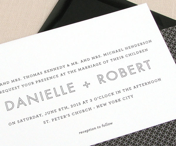 Madison Wedding Invitations | The Occasional Hello