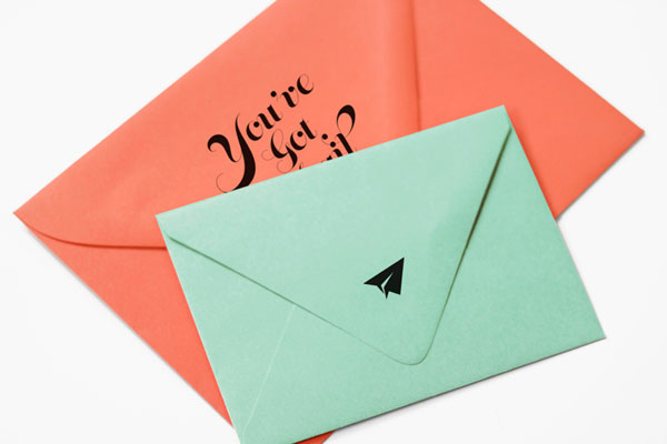 Playful Envelope Details | James Prunean