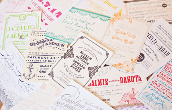 Bliss Collection by Spark Letterpress