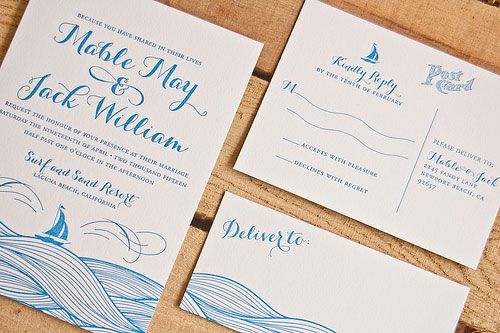 Mable Wedding Invitations | Spark Letterpress