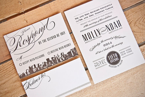 Molly Wedding Invitations | Spark Letterpress