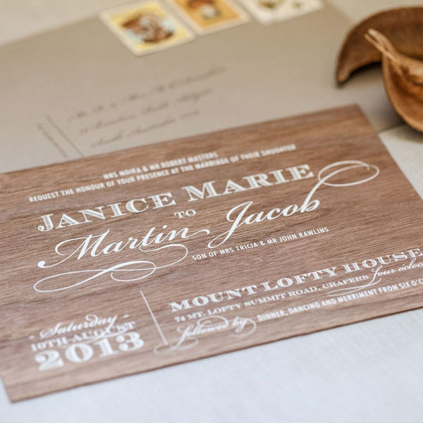 Enchanted Forest Wedding Invitations | Akimbo