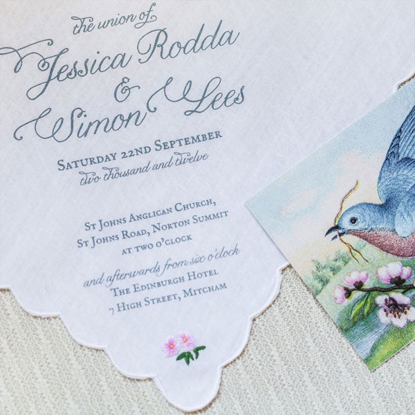 Garden Path Wedding Invitations | Akimbo