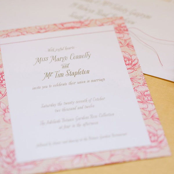 One Fine Day Wedding Invitations | Akimbo