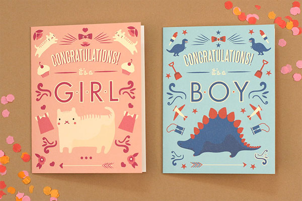 Free Printable Baby Congratulations Cards | Love vs. Design
