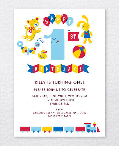 Kids Party Invites by Esther Aarts for Hello Lucky Invitation Crush