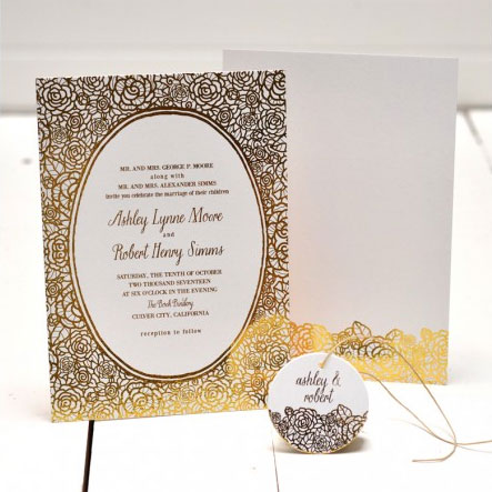 Merriment Wedding Invitations | Smitten on Paper