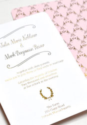 smitten-gold-foil-wreath-invitations