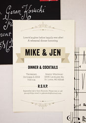 musical-rehearsal-dinner-invitations