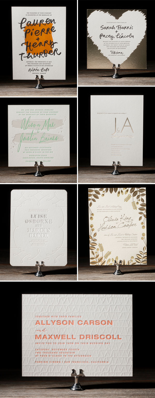Bella Figura 2014 Wedding Invitaiton Collection
