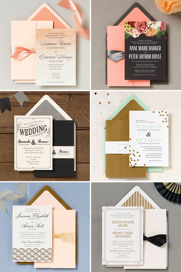 Paper Source 2014 Wedding Invitations