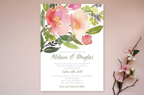 Pics Photos Home Wedding Invitations Blue Floral Toile Navy Wedding