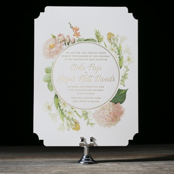 Josephine Wedding Invitations by Ellie Snow for Bella Figura