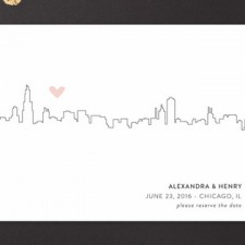 Love in the City Save the Date Cards