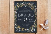 Minted Floral Wedding Invitations