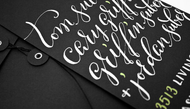 Envelope Calligraphy by Molly Suber Thorpe / Plurabelle