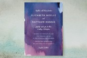 Artistic Abstracts Wedding Invitations from Minted