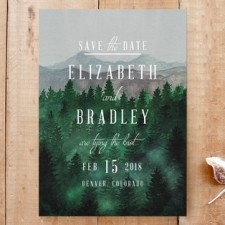 Rustic Adventure Save the Date Cards by Elly