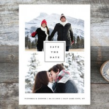 Multi-Photo Save the Date Cards by Stacey Meacham