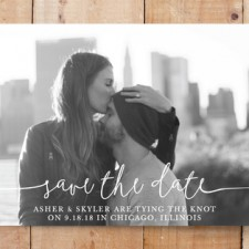 Boho Love Save the Date Cards by Christine Taylor