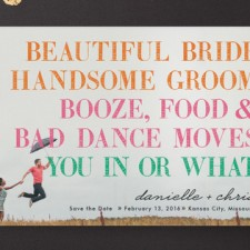 Funny Save the Date Cards by Hi-lighter Inc.