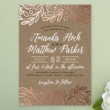 Bold Botanical Wedding Invitations by Alethea & Ruth