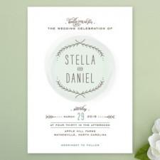 Romantic Branches Wedding Invitations by Jennifer Postorino