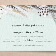 Abstract Art Wedding Invitations by Simona Cavallaro