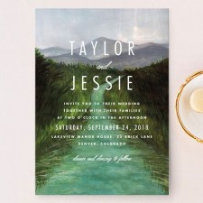 Adventure Outdoors Wedding Invitations by Elly