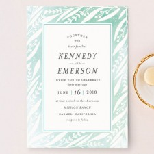 Breezy Branches Wedding Invitations by Olivia Raufman