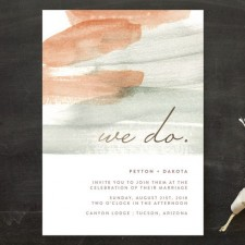 Canyon Wedding Invitations by Kelly Nasuta